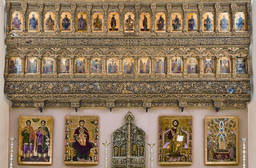 Iconostasul bisericii mănăstirii Cotroceni