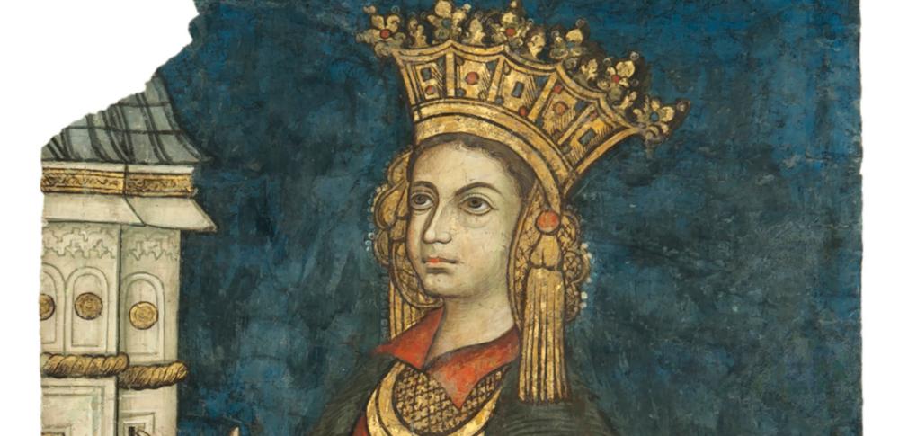 Pictură murală - Doamna Roxanda