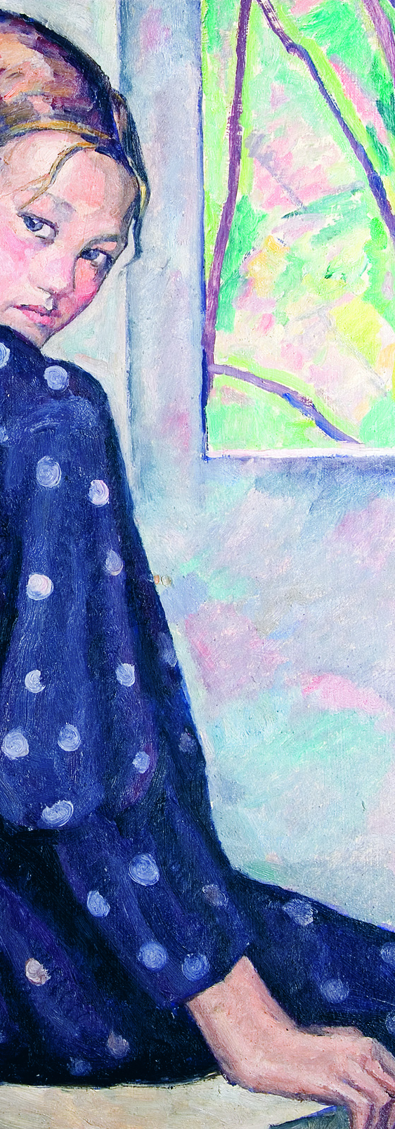 camil ressu - portret de fetita